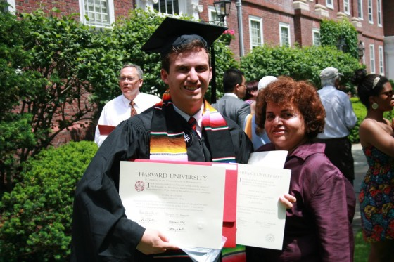 Adan Graduates from Harvard (WEBSITE_TIMELINE 2012)